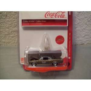 Johnny Lightning Coca Cola Winter 1967 Chevy Chevelle SS