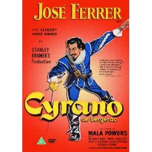 Cyrano de Bergerac (UK PAL Region 0): Jose Ferrer: Movies & TV
