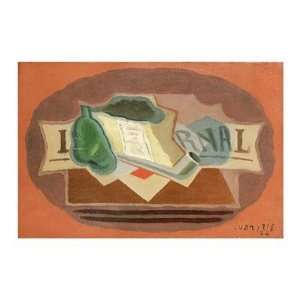 The Packet of Tobacco by Juan Gris . Art PRINT Poster 34