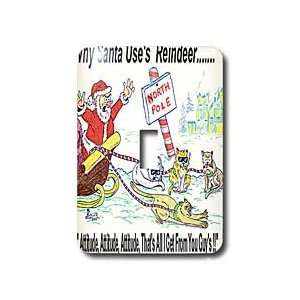 Rich Diesslins Cartoon Days of Christmas TCDC   Kevin Edler, Why Santa