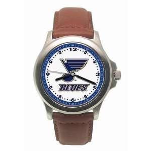 Saint Louis Blues Mens NHL Rookie Watch (Leather Band