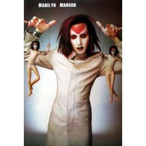 Marilyn Manson Hard Rock Heavy Metal Band Wall Decoration Poster Size
