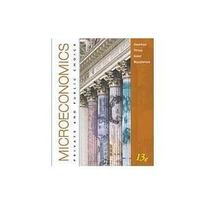 Microeconomics  Text (13th, 11) by Gwartney, James D   Stroup, Richard
