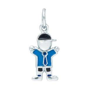 Sterling Silver Boy Charm Arts, Crafts & Sewing