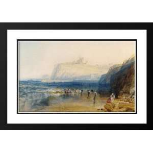 Turner, Joseph Mallord William 24x18 Framed and Double Matted Whitby