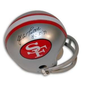 Y.A. Tittle Autographed/Hand Signed San Francisco 49ers