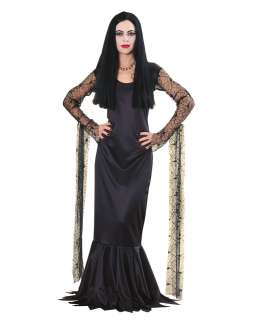 The Addams Family Morticia Addams Adult Costume