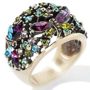 Heidi Daus Fantasy of Flight Crystal Band Ring