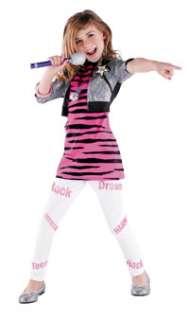 Montana Pink and Black Stripe Dress Costume   Disneys Hannah Montana