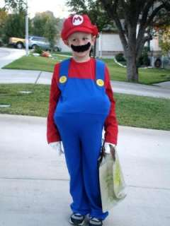 Super Mario Bros. Mario Deluxe Toddler / Child Costume, 65026