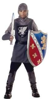Kids Medieval Valiant Knight Costume   Medieval Costumes