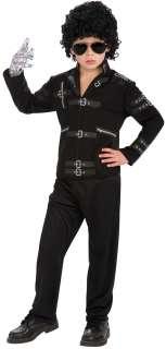 Michael Jackson Bad Buckle Jacket Costume   Michael Jackson Costumes