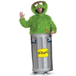 Sesame Street Oscar the Grouch Teen Costume, 61869