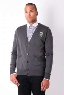 Cardigan by McQ Alex   Grey   Buy Knitwear Online at my wardrobe