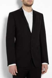 Black Wool Slim Tuxedo Blazer by D&G Dolce & Gabbana