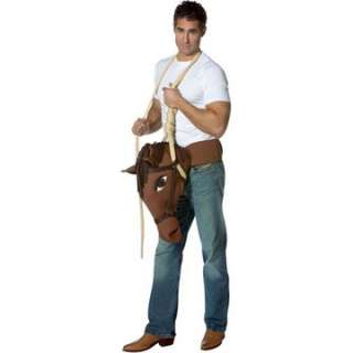 Adult Hung Like A Horse Costume   Funny Halloween Costumes   15GC6092