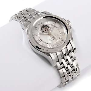 Accutron Mens Gemini 25 Jewel Stainless Steel Automatic Bracelet