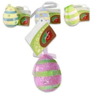 4 Piece Easter Hanging Egg 4Lx3D   Assorted Patio, Lawn