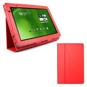 Portfolio Leather Case Cover for Acer Iconia Tab A500 10.1