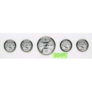 American Platinum, Speedometer, Water Temperature, Fuel Level