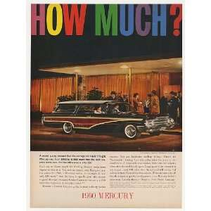 1960 Mercury Colony Park Station Wagon Print Ad Home & Kitchen