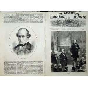 Portrait Brand New Speaker House Commons 1872 Fine Art