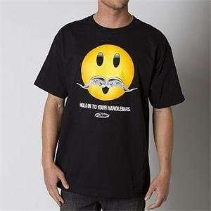 FMF Apparel Handlebars T Shirt   Large/Black Automotive