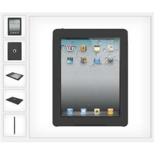 Apple iPad 2 Aegis Impact Resistant Case   Black   TRI AG IPAD
