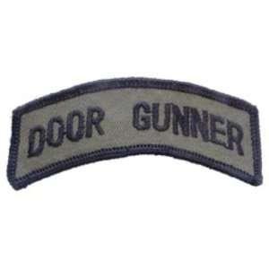 U.S. Army Door Gunner Patch Green 3 1/2 Patio, Lawn
