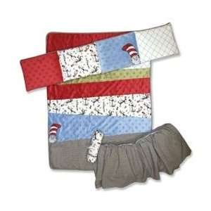 Dr. Suess Cat in the Hat Crib Set by Trend Lab Baby