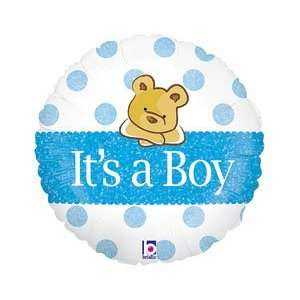 Its A Boy 18 Mylar Foil Baby Shower Party Balloon