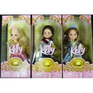 Barbie Kelly Little Princess and Prince Doll set Toys