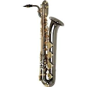 com Allora Paris Series Professional Black Nickel Baritone Saxophone