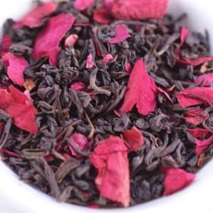 Ovation Teas   Rose Black Tea teabags  Grocery & Gourmet