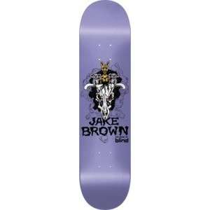 Blind Jake Brown Eternal Life 2 Cuddly Skull Skateboard Deck   7.6 x