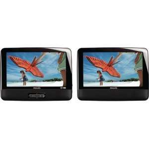 PD9012/37 DUAL SCREENS PORTABLE LCD DVD PLAYER (9) Electronics