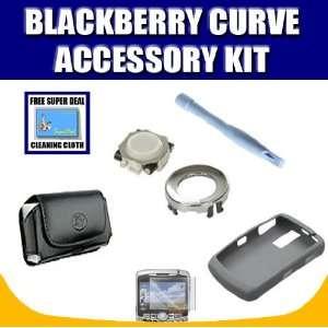Blackberry OEM Grey Skin + Curve Leather Horizontal Pouch