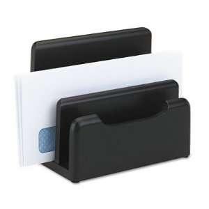 Rolodex 62525 Wood Tones Desktop Sorter, Black