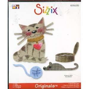 Sizzix Originals Die Large Cat & Cat Toys: Arts, Crafts & Sewing
