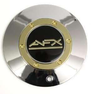 Afx Wheel Center Cap Chrome Gold # W 1859 Automotive