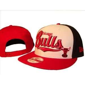 Chicago Bulls New Era 9Fifty White Adjustable Snap Back Baseball Cap