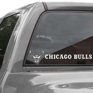 NBA Chicago Bulls 4 x 17 Die Cut Decal Strip  Sports