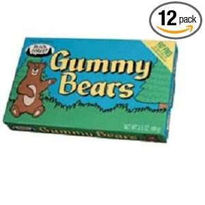 Black Forest Gummy Bear Concession, 3.5 Ounce Boxes (Pack of 12)