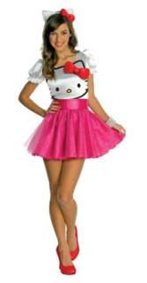 Kitty   Hello Kitty Tutu Dress Teen Costume Teen (Teen): Clothing