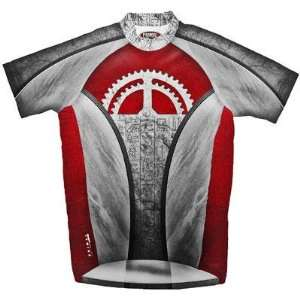Primal Wear Mens Team Hiero Original Short Sleeve Cycling Jersey