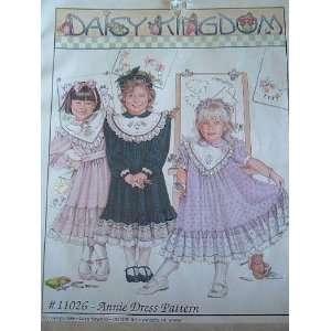 DAISY KINGDOM SEWING PATTERN 11026 ANNIE DRESS PATTERN SIZE TODDLER 2