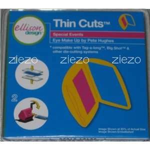 Ellison/Sizzix Thin Cuts Die Eye Make Up Makeup 22014