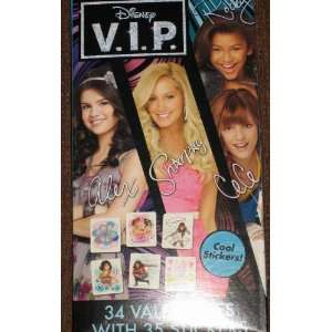 Disney VIP Alex Sharpay Cece Rocky 34 Valentines cards