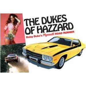 25 Dukes of Hazzard Daisy Dukes Plymouth Car Model Kit: Toys & Games