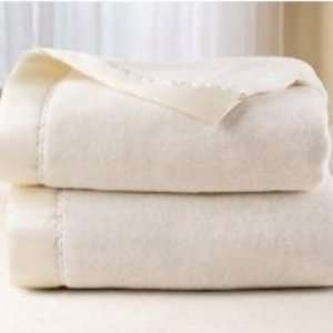 Sunbeam Heated Electric Warming Blanket Ivory Queen Home